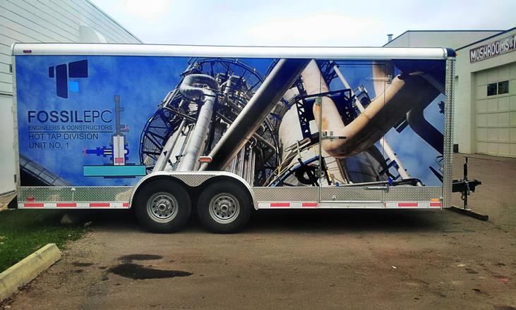 Vehicle-trailer-wrap